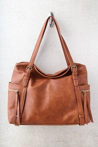 Carry Me Home Brown Handbag