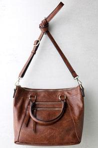 Each and Every Moment Brown Handbag
