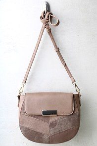 Mix It Up Brown Purse