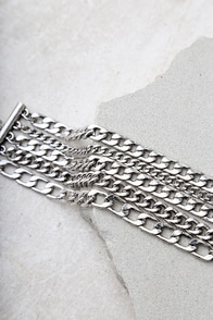 Dream Sequence Silver Chain Bracelet