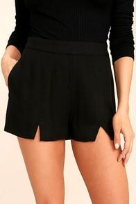 Tavik Hayes Black Shorts