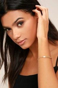 You Name It Gold Bracelet