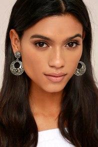 High Plains Silver Earrings