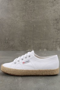 Superga 2750 COTROPEU White Espadrille Sneakers