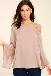 Figment of My Imagination Mauve Top