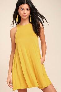 Tupelo Honey Yellow Dress