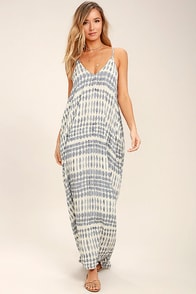 Lovely Cream Dress - Maxi Dress - Boho Dress - $78.00