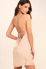 Top Pick Blush Slip Dress