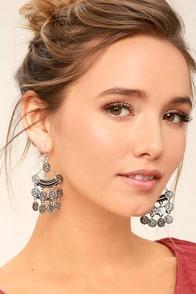 Eureka Silver Earrings
