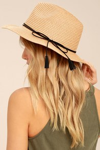 Sun Dweller Tan Straw Hat
