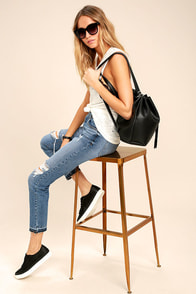 Ahead of the Pack Black Backpack