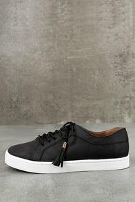 Report Amethyst Black Sneakers