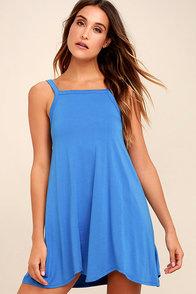 RVCA Thievery Blue Dress