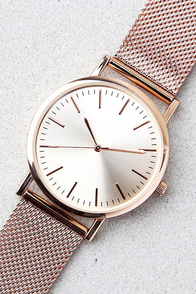 Tick-Tock Rose Gold Watch