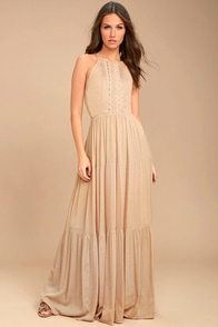 Lovely Blush Dress Maxi Dress Off The Shoulder Dress