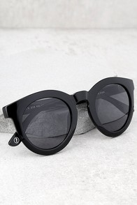 Crap Eyewear The T.V. Eye Black Sunglasses