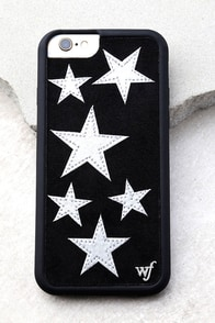 Wildflower Star Vintage Silver and Black iPhone 6 and 6s Case