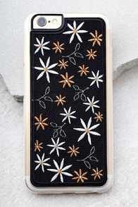 Zero Gravity Wander Black Embroidered iPhone 6 and 6s Case