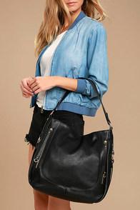 How Far I'll Go Black Handbag