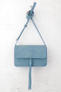 Venice Blue Crossbody Purse