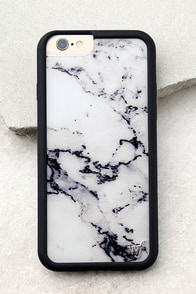 Wildflower Marble White iPhone 6 and 6s Case