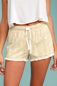 Others Follow Higuera Beige Shorts