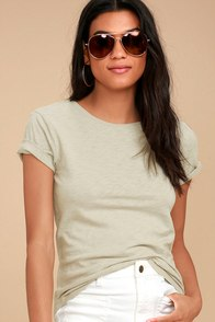 Embry Sage Green Tee