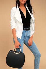 Melie Bianco Cameron Black Handbag