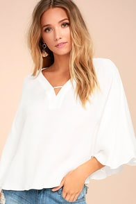 PPLA Martina White Top