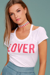 Chaser Lover White Tee