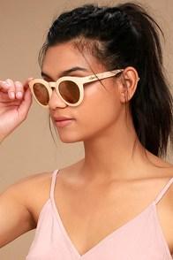 Crap Eyewear The T.V. Eye Pink Mirrored Sunglasses