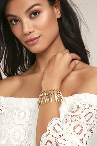Pieces of Paradise Gold Bracelet