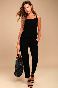 Tavik Preston Black Jumpsuit