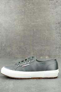 Superga 2750 Satin Grey Sneakers