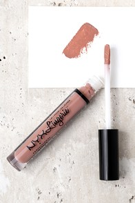 NYX Baby Doll Nude Pink Lip Lingerie Liquid Lipstick