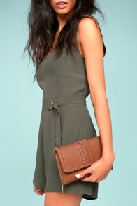 Austin Chic Brown Clutch