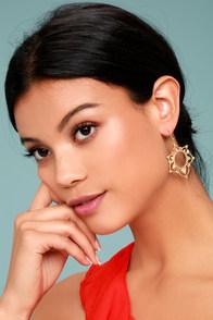 Always Enchanted Gold Earrings