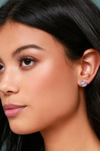 Heavenly Lights Gold and Iridescent Earrings