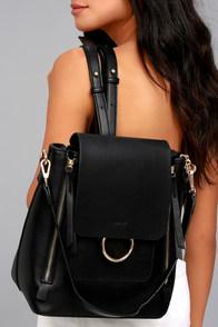 Melie Bianco Brooklyn Black Backpack