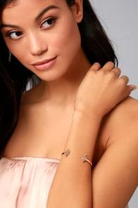 Darling Desert Rose Gold Bracelet