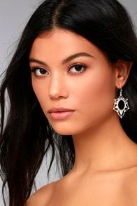 Always Enchanted Silver Earrings