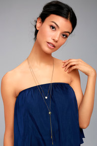 Cute Constellation Gold Layered Necklace