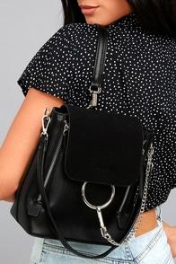 Sidewalk Stunner Black Backpack