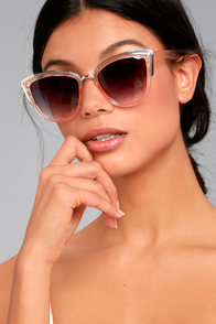 Soho Sun Black and Blush Sunglasses