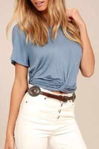 Lovestrength Phoenix Brown Leather Belt