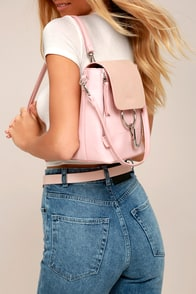 Sidewalk Stunner Pink Backpack
