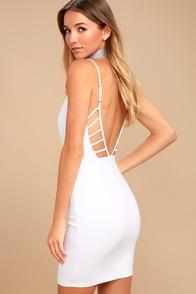 So Good White Bodycon Dress