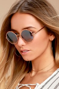 Perverse Xanadu Gold and Black Sunglasses