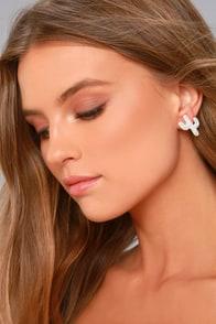 Desert Dance Silver Earrings