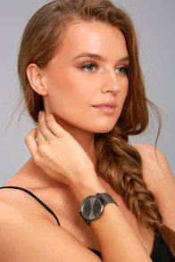 Tick-Tock Gunmetal Watch